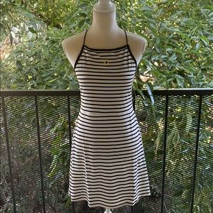 NWT Topshop striped skater dress with daisy print